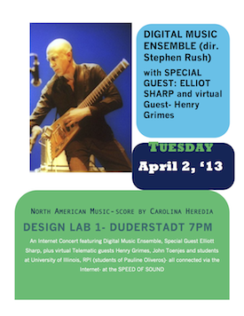 DME CONCERT - Elliott Sharp